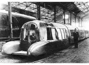 Tren Articulado Ligero Goicoechea Oriol (Talgo). Prototipo del año 1942. 09-04-2001.