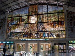 Estación Abando de Bilbao