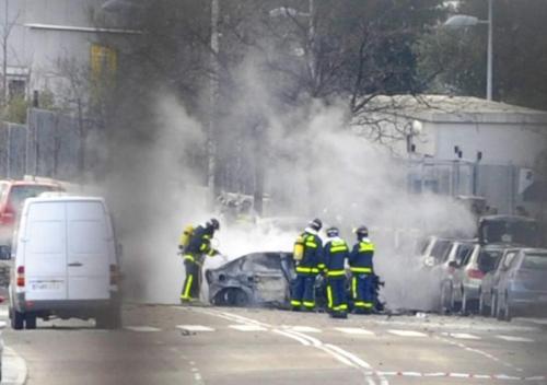ExplotacochebombaenMadrid (AFP)