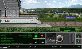 simulador juego tren