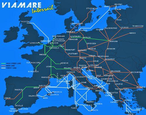 interrail karta europa InterRail, pasaporte para recorrer Europa en tren | treneando interrail karta europa