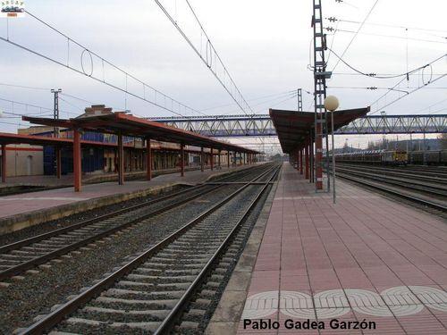 Adif Adapta La Estacion Palentina De Venta De Banos A La Nueva Linea