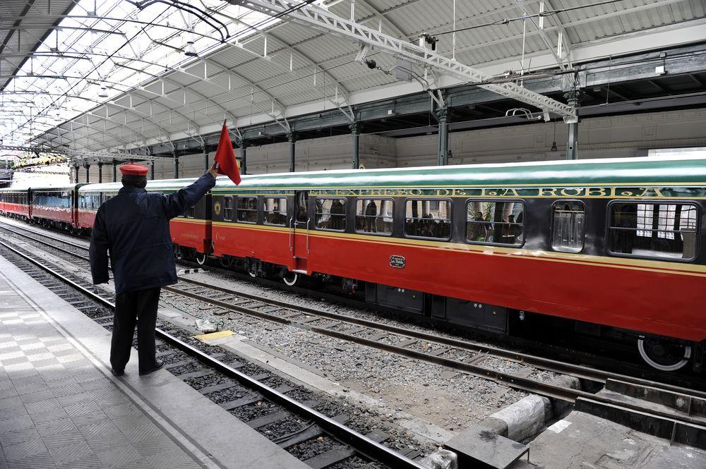itinerario tren: