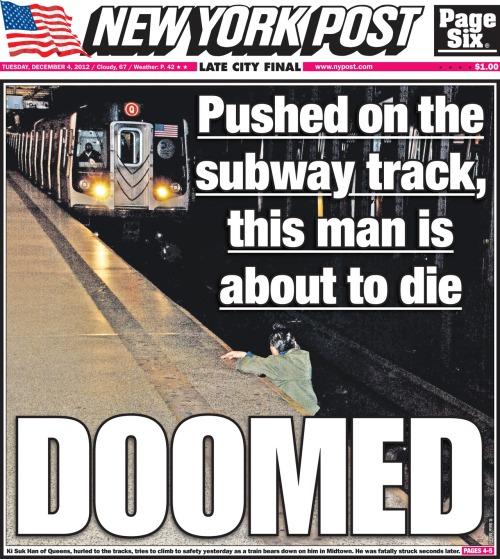 portada-del-nypost-del-incidente-en-el-metro