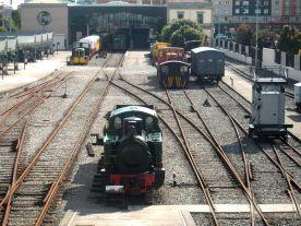 Resultado de imagen de gijon museo ferrocarril