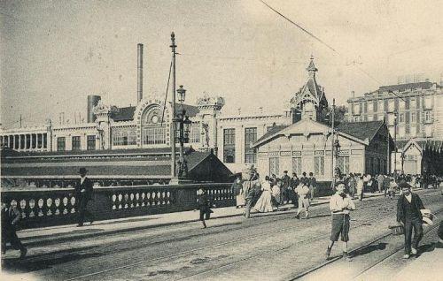 Puente-del-Arena-y-estaciones-Tarjeta-posta-Ladáburu-Foto-H.yM.M-1900-Archivo-Histórico-Ferroviario