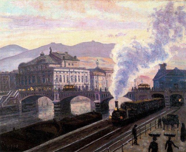 Dar o de regoyos el pintor del tren treneando - Trabajos de pintor en madrid ...