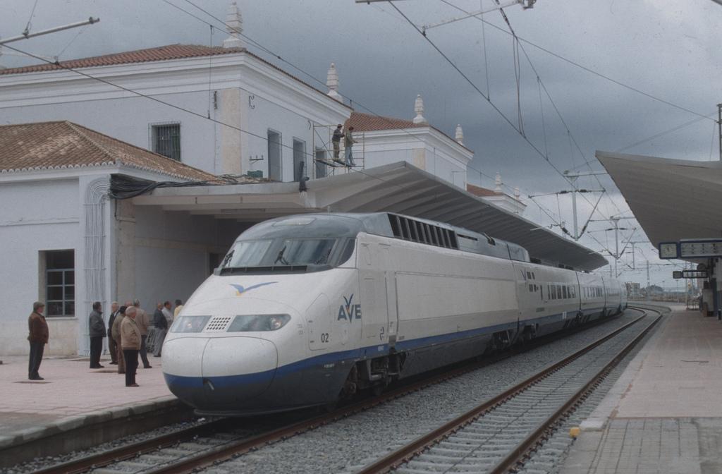 Tren parado en estacion - 3 part 9