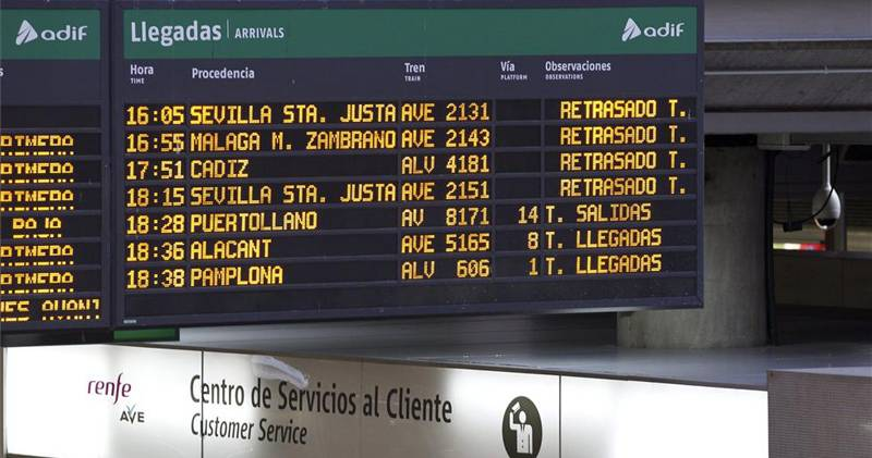 horario renfe ave: