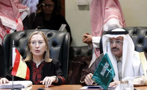 ministra-de-fomento-con-ministro-de-finanzas-arabia