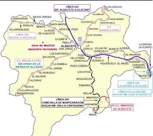 Albacete-recorrido-trenes