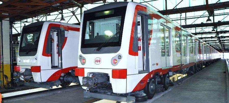 Caf Concluye La Primera Unidad Que Usara El Metro De Santiago De Chile En Sus Nuevas Lineas Treneando