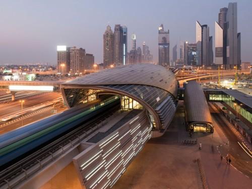 Dubai-Metro-linea-roja