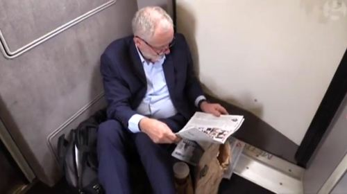 Corbyn-floor-train