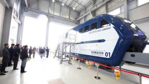Corea del Sur compite con el hyperloop