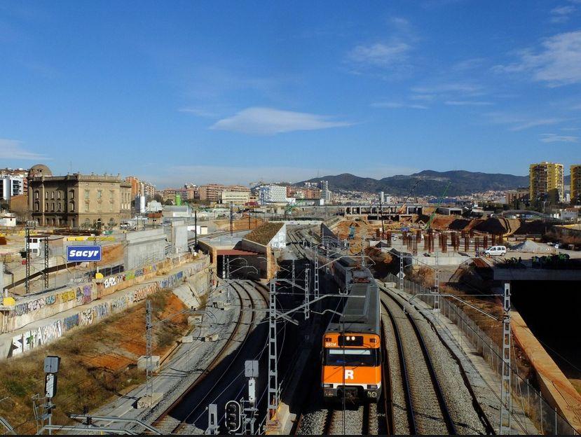 Estacion Sagrera Obras Entorno Treneando
