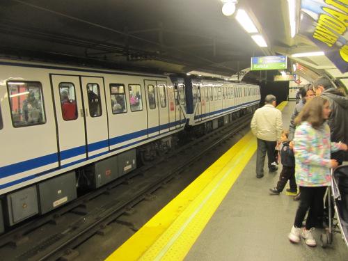Maquinista treneando - La maquinista metro ...