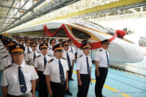 China lanza el Fuxing, el tren más rápido del mundo