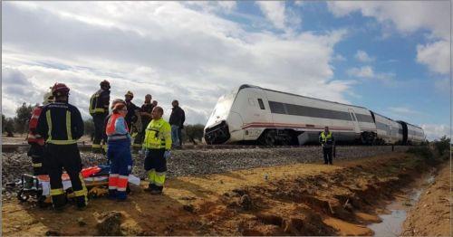 Descarrila el tren Málaga-Sevilla por las lluvias