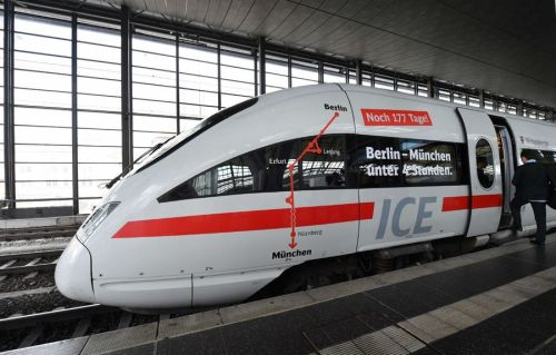 Estreno con averías del ICE Munich-Berlín