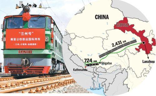 China y Nepal, unidos por ferrocarril